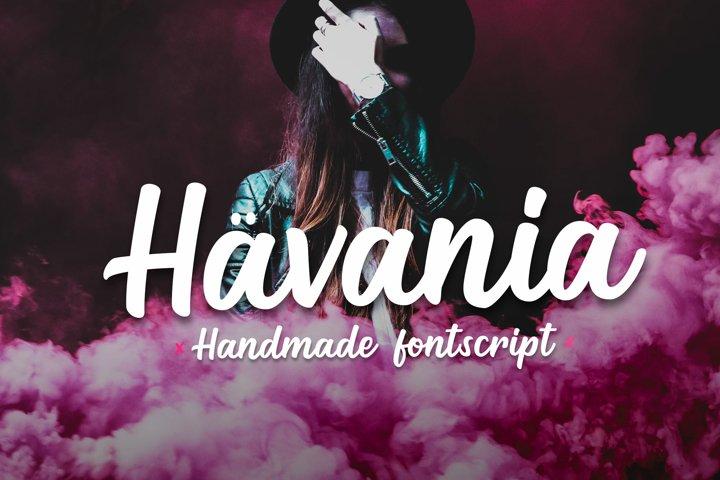 Havania - Font Script