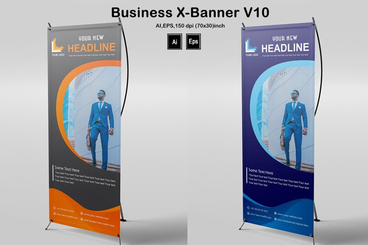 Business X-Banner V10
