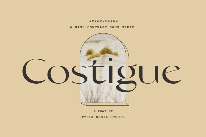 Costigue - Luxury Sans