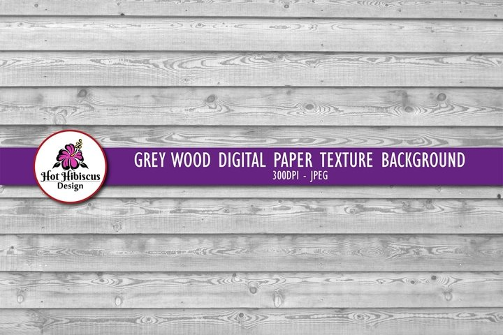 Grey Wood Texture Background Digital Paper