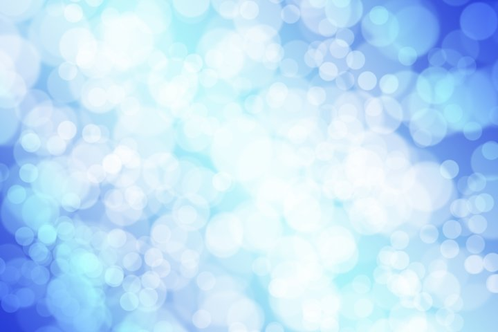 Christmas winter abstract background with bokeh lights
