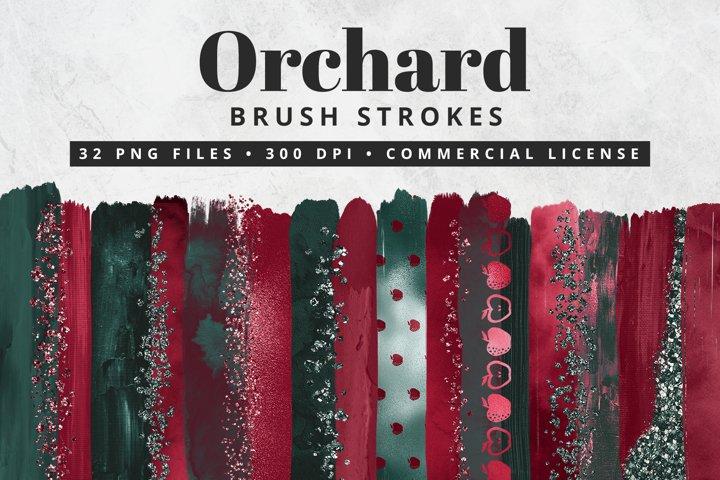 Orchard Apple Brush Strokes 32 Pc.