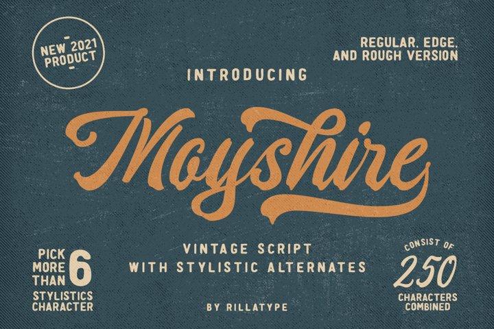 Moyshire - Vintage Script