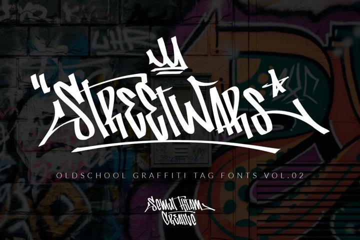 Street Wars - OldSchool Graffiti Tag Fonts