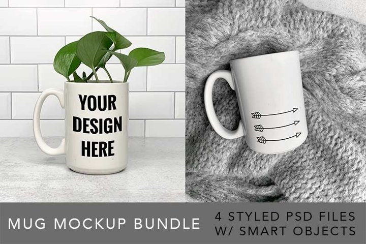 STYLED STOCK PHOTOS - MUG Bundle