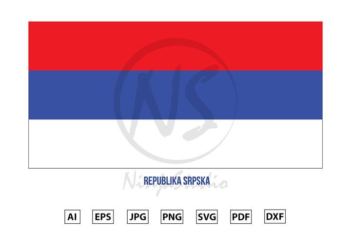 Republika Srpska Flag. Republika Srpska National Flag