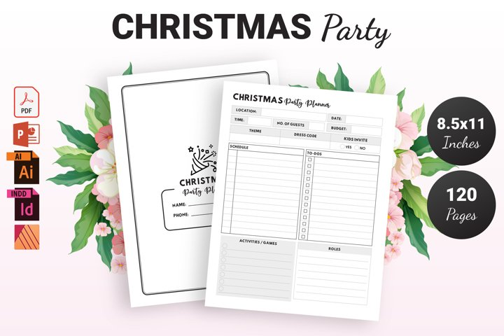 Christmas Party Planner - KDP Interior