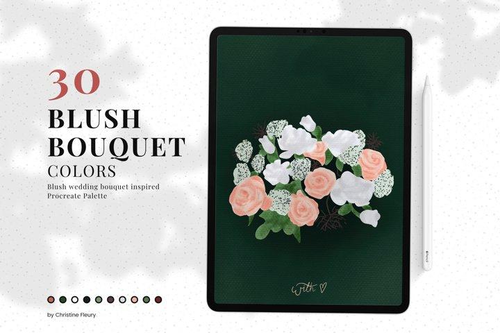 Procreate Color Palette - Blush Bouquet