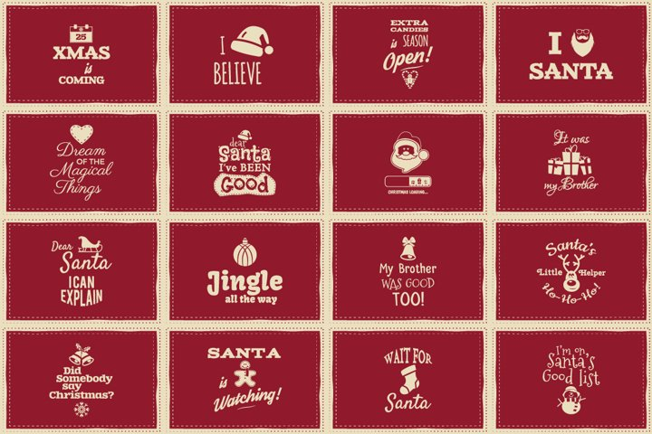 Christmas Background Cards & Posters example 2