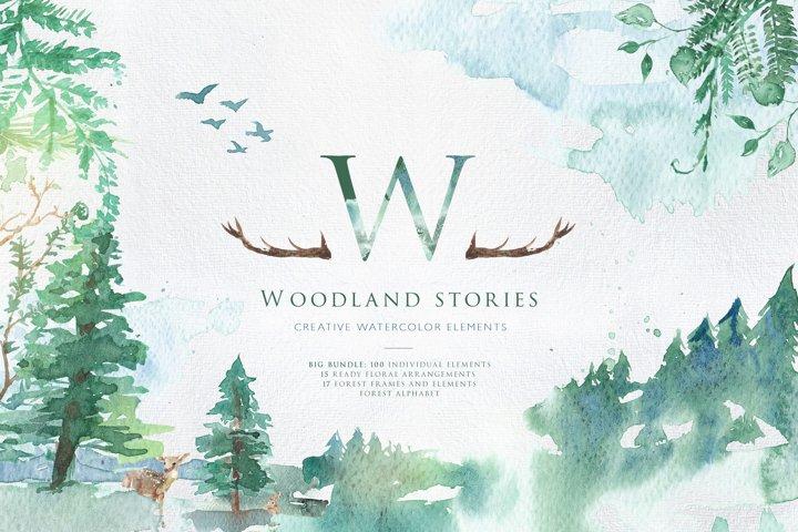 Woodland Stories | Creative Set