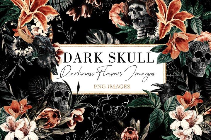 Dark Skull   ClipArt Skull