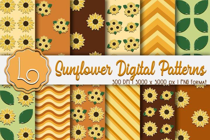 Sunflower Digital Patterns