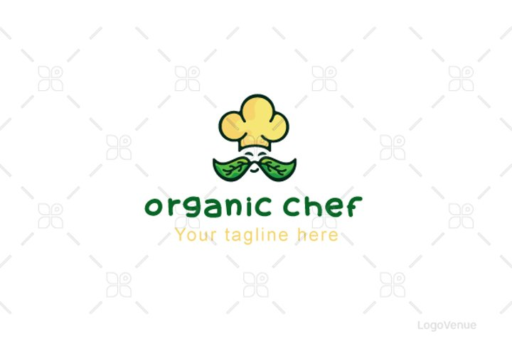 Organic Chef - Professional Cook Stock Logo Template