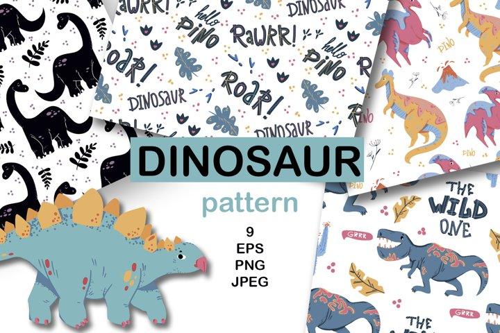Dinosaur Digital Papers, Dinosaur Papers, Dinosaur Patterns