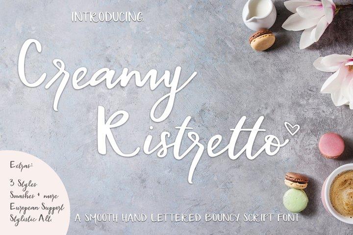 Creamy Ristretto