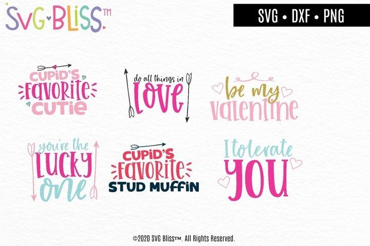 Be My Valentine SVG Cut File