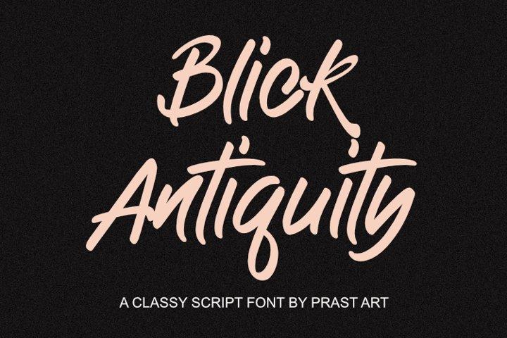 Antiquity Blick