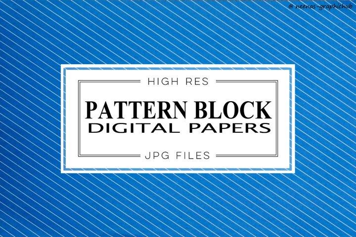 Pattern Block Digital Papers