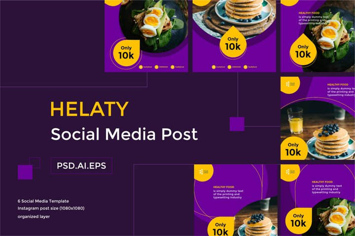 HELATY Social Media Post
