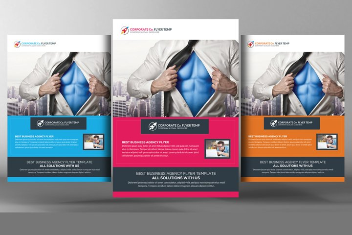 InDesign Corporate Flyer Templates