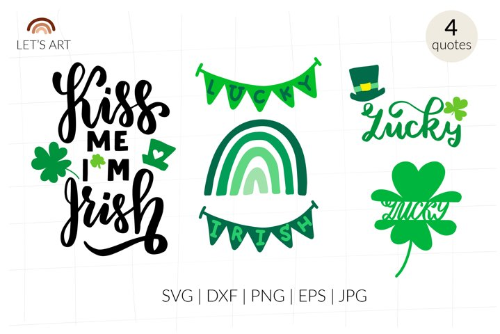 St Patricks Day svg. Lucky Irish rainbow svg, Lucky svg