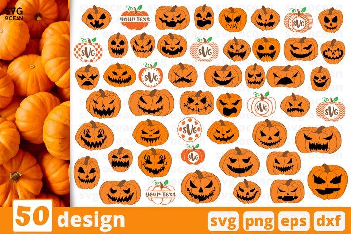 50 HALLOWEEN SVG BUNDLE | Halloween cricut | Monogram