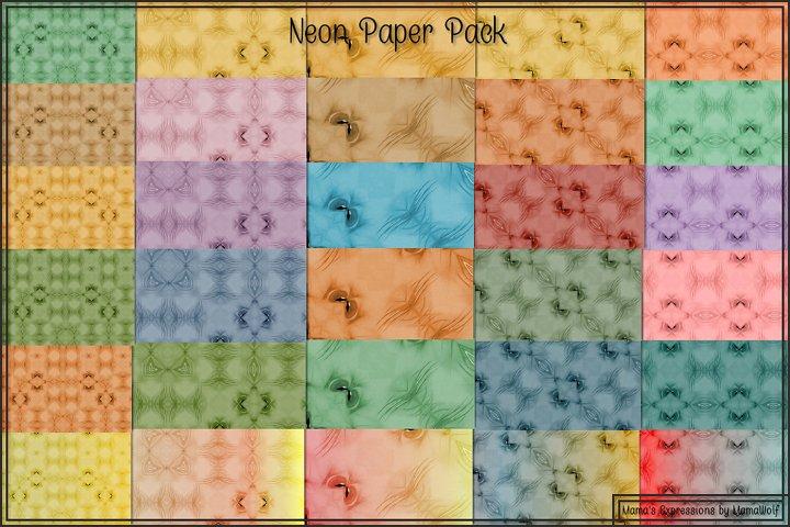 Neon Paper Pack