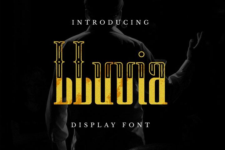LLuvia Font