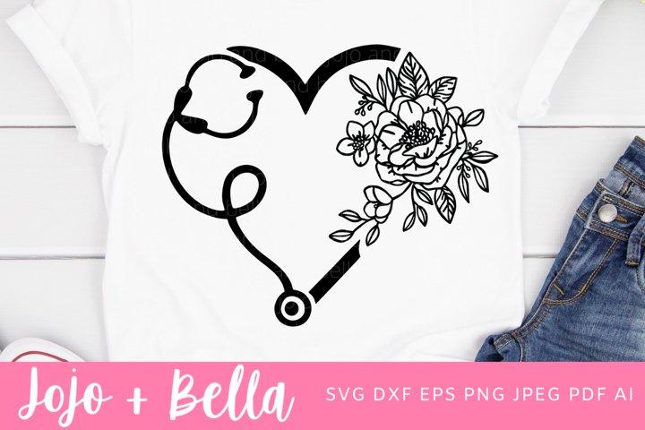 Stethoscope Svg | Nurse Svg