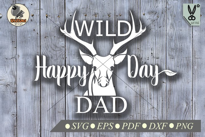 Fathers Day SVG, Happy fathers day tipography quote