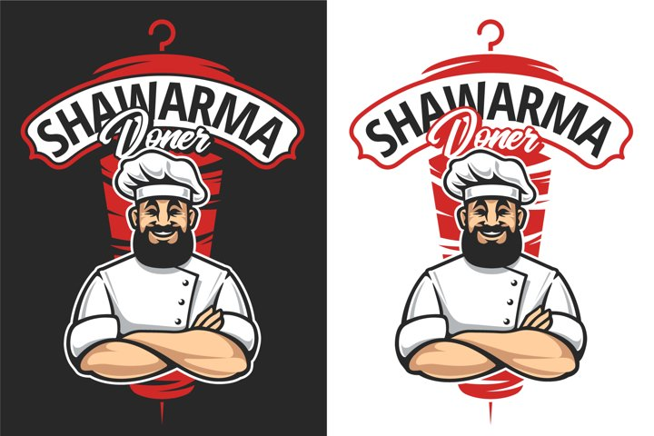 Shawarma Doner | Vector Emblem
