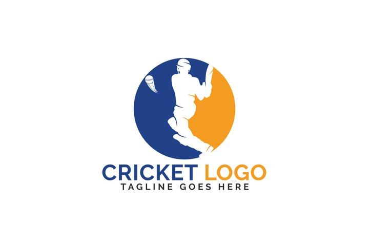 Cricket Logo Design.