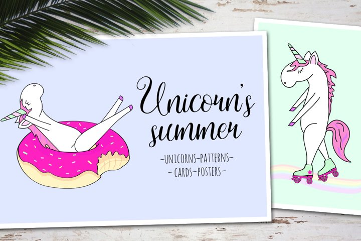 Unicorns summer