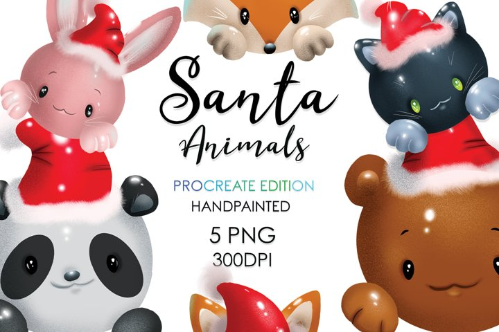 Christmas Sublimation, Christmas Animals, Christmas Bundle