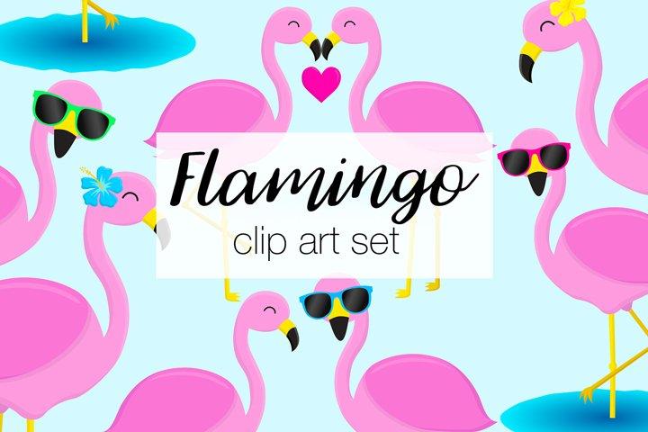 Flamingo Clipart Illustrations