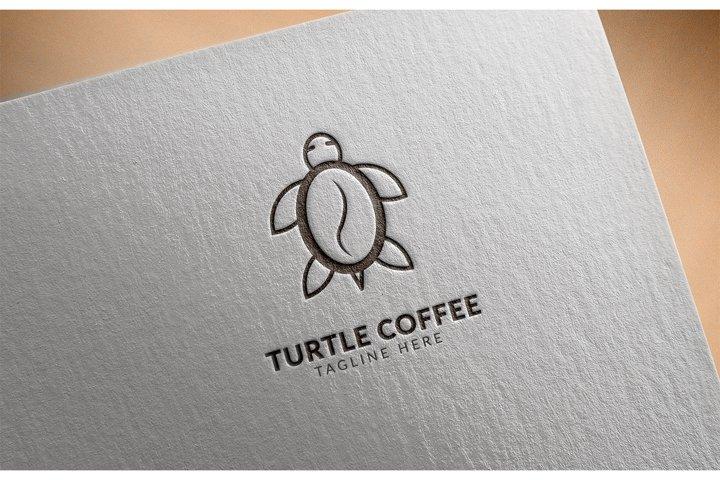 Awesome logo icon Turtle Coffee creative design