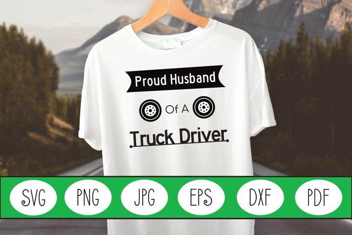 Truck Driver SVG | Truck Driver | Wife Truck Driver