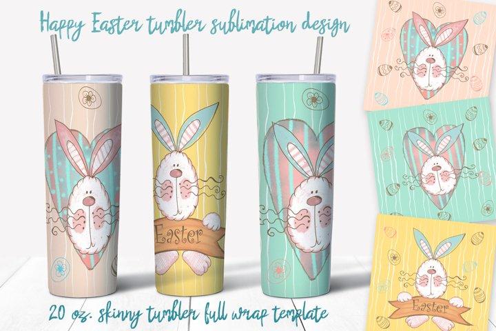 Skinny tumbler Png. Happy Easter Png. Easter sublimation