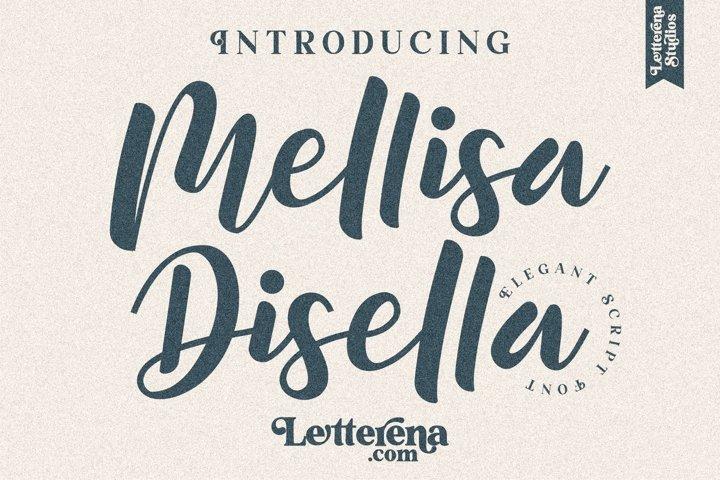 Mellisa Disella - Elegant Script Font