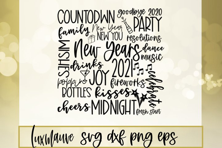2021 New Year SVG