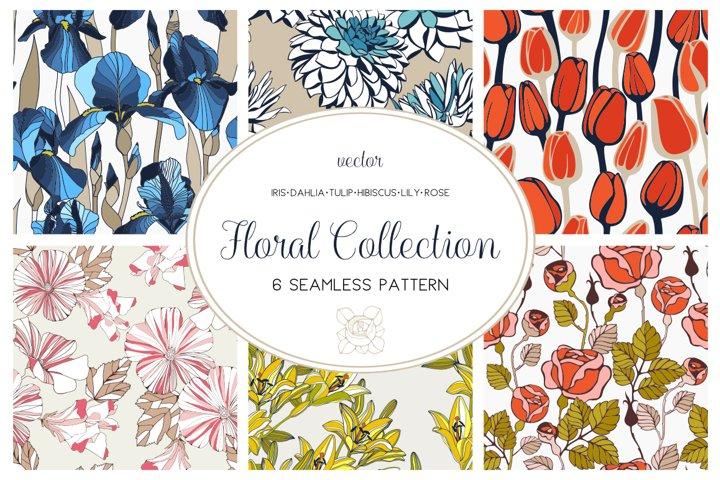 Floral Pattern Collection Floral Pattern Collection