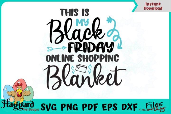 Black Friday Online Shopping Blanket