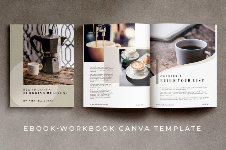 eBook - Workbook Canva Template | Maine