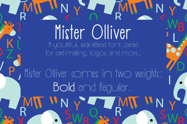 Mister Olliver example