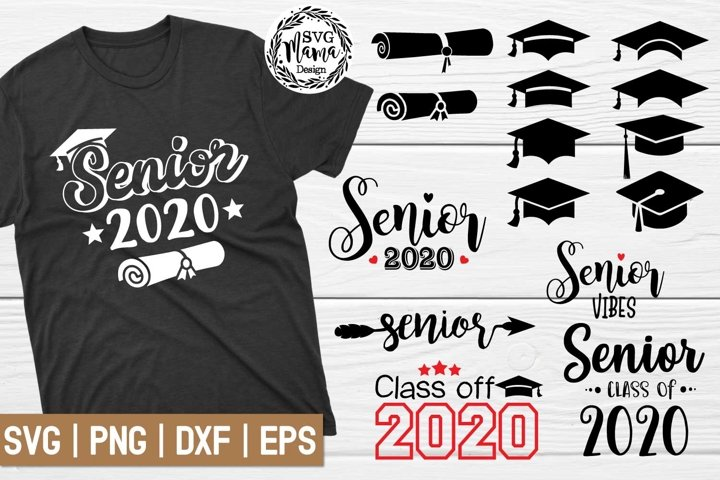 Senior SVG Bundle