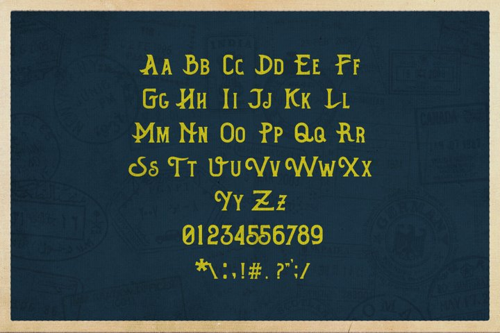 Hometown Vintage Typeface - Free Font of The Week Design3
