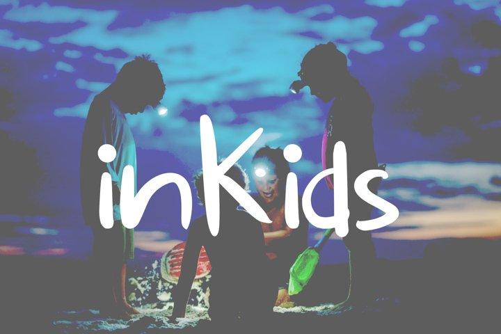 inKids Children Typeface