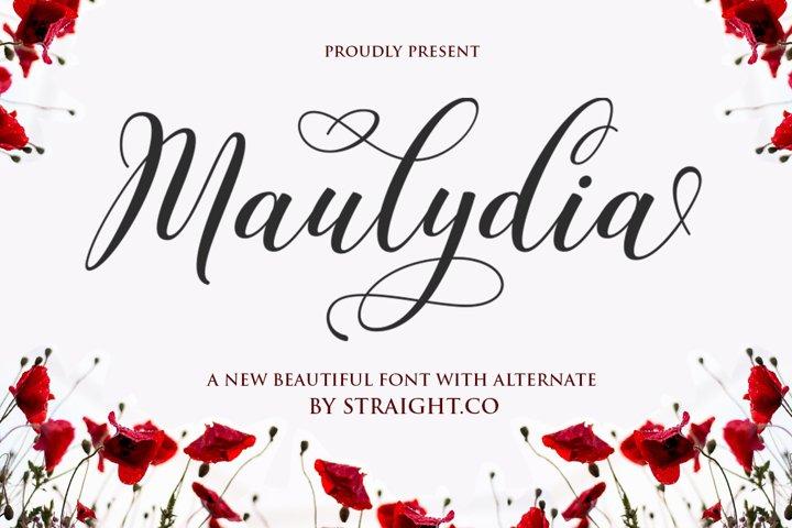 Maulydia Script