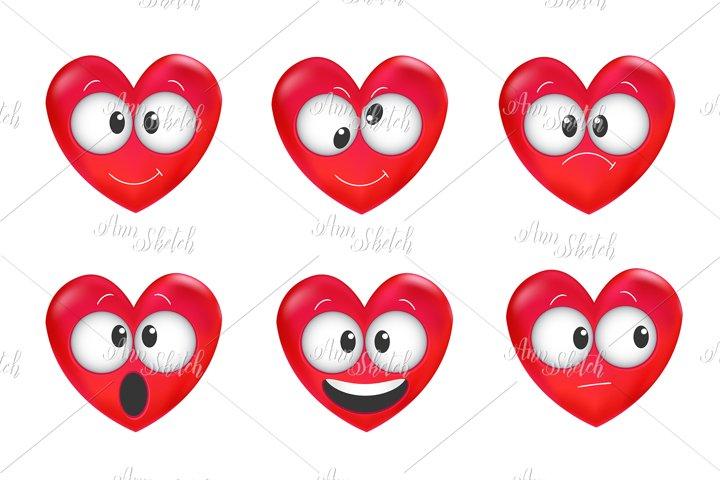Love Emoji set.