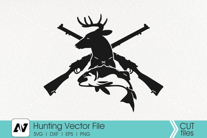 Hunting Svg, Trophy Hunting Svg, Fishing Svg